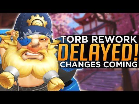 Overwatch: Torbjorn Rework DELAYED! - BIG Changes Coming! thumbnail