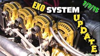 EXO Car Audio Updates: Fixing Alternator Bracket & Belt Travel // NVX Blow Through // Slamfest 2015?