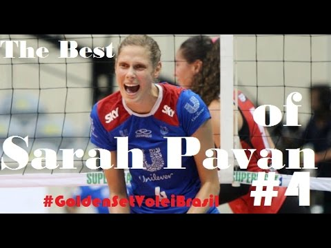 The best of Sarah Pavan #4 ✰ Golden Set Vôlei Brasil ✰