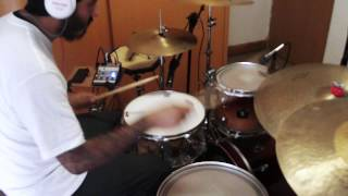 Yax Avila - Paramore - Be Alone (Drum Cover)