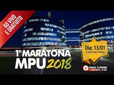 1ª Maratona MPU