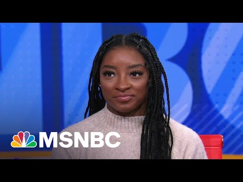Simone Biles Shares Her Mental Health Journey And How She's Helping Others