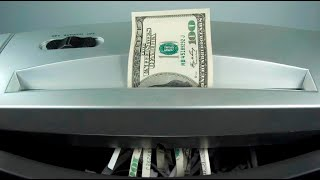 Money Shredding Real Or Fake Money Asmr