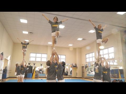 Northport High School Varsity Cheerleaders Prepare for Nationals