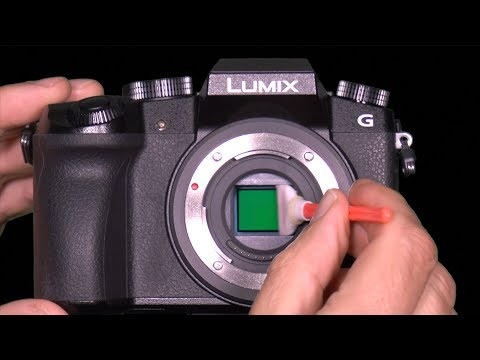 Sensor Cleaning Panasonic Lumix Mirrorless Camera DIY