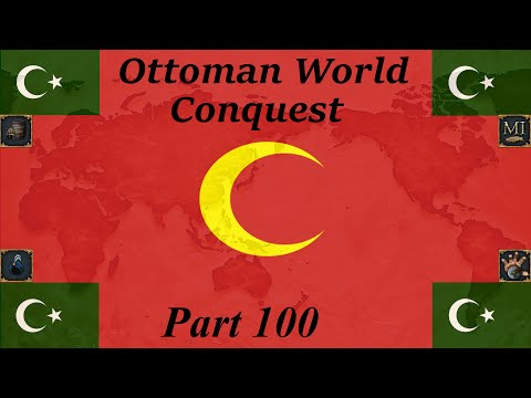 EU4 Ottoman World Conquest part 100. Big Leonese Louisiana.