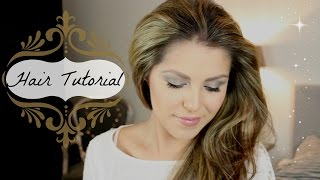 ♥ Glamour haar tutorial | Kerstlook Thumbnail