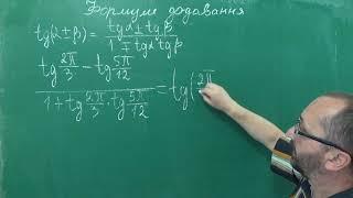 Тема 6 Урок 4 Формули додавання - Алгебра 10 клас