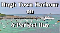 Hugh Town Harbour on St Marys - Isles of Scilly
