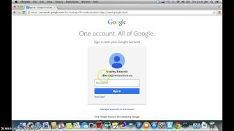 How to Log in to google drive
