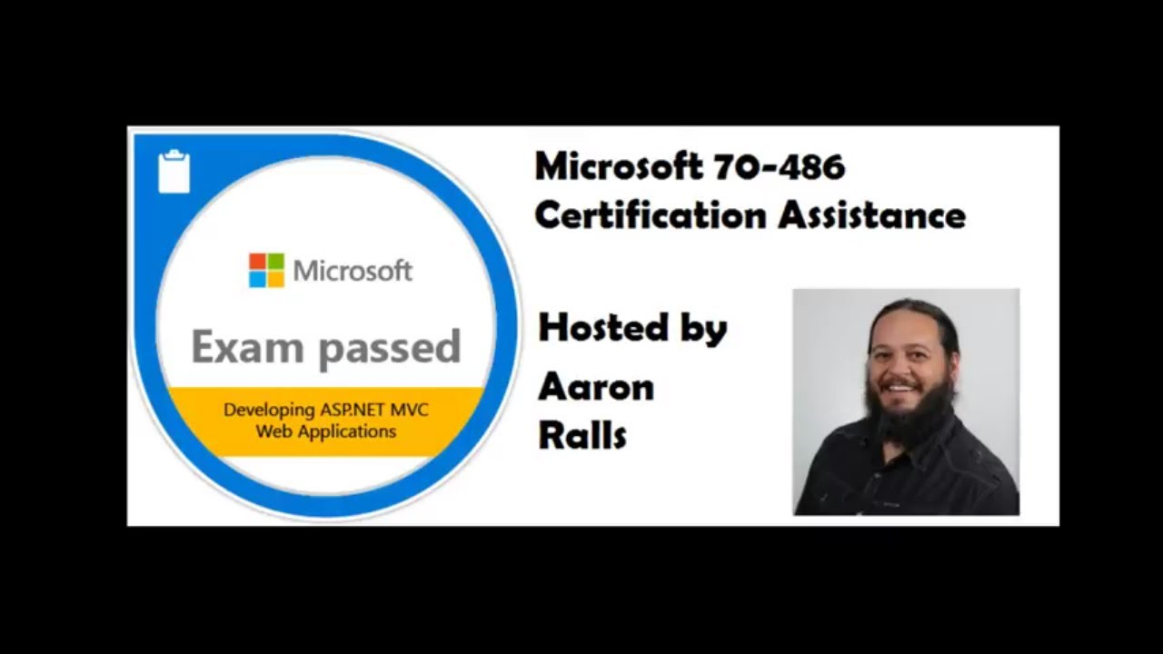 Microsoft Exam 70 486 Mvc C Asp Net Core Certification Facebook Group Youtube