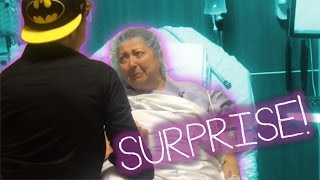 Surprising Mum in the Hospital