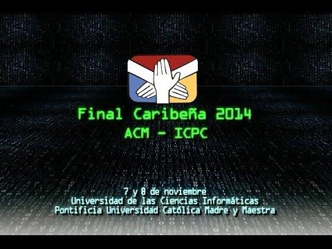 Caribbean Finals of the ACM-ICPC 2014