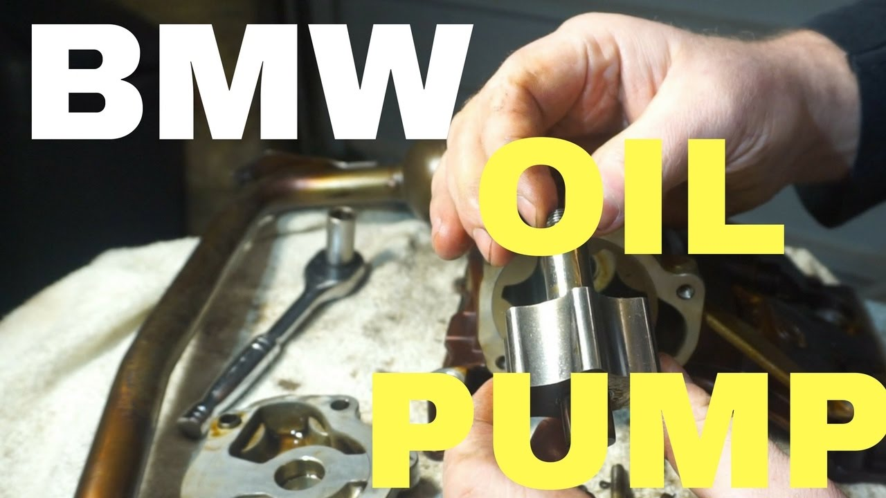 Bmw M54 M52tu Oil Pump Disassembly And Nut