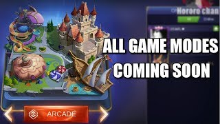 ALL GAME MODES COMING SOON
