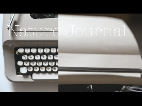 Nature Journal DIY