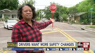 Stop signs installed at troubled Tampa Bay intersection