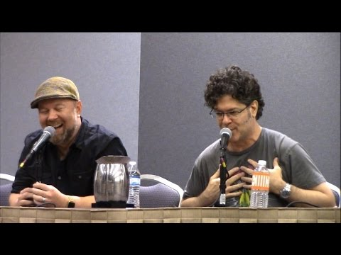 DBZ Panel with Sean Schemmel and Chris Sabat at Alamo City Comic Con 2016
