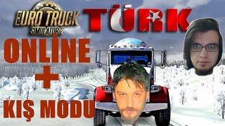 Euro Truck Simulator 2 Türkçe Multiplayer | Kar Kış Modu