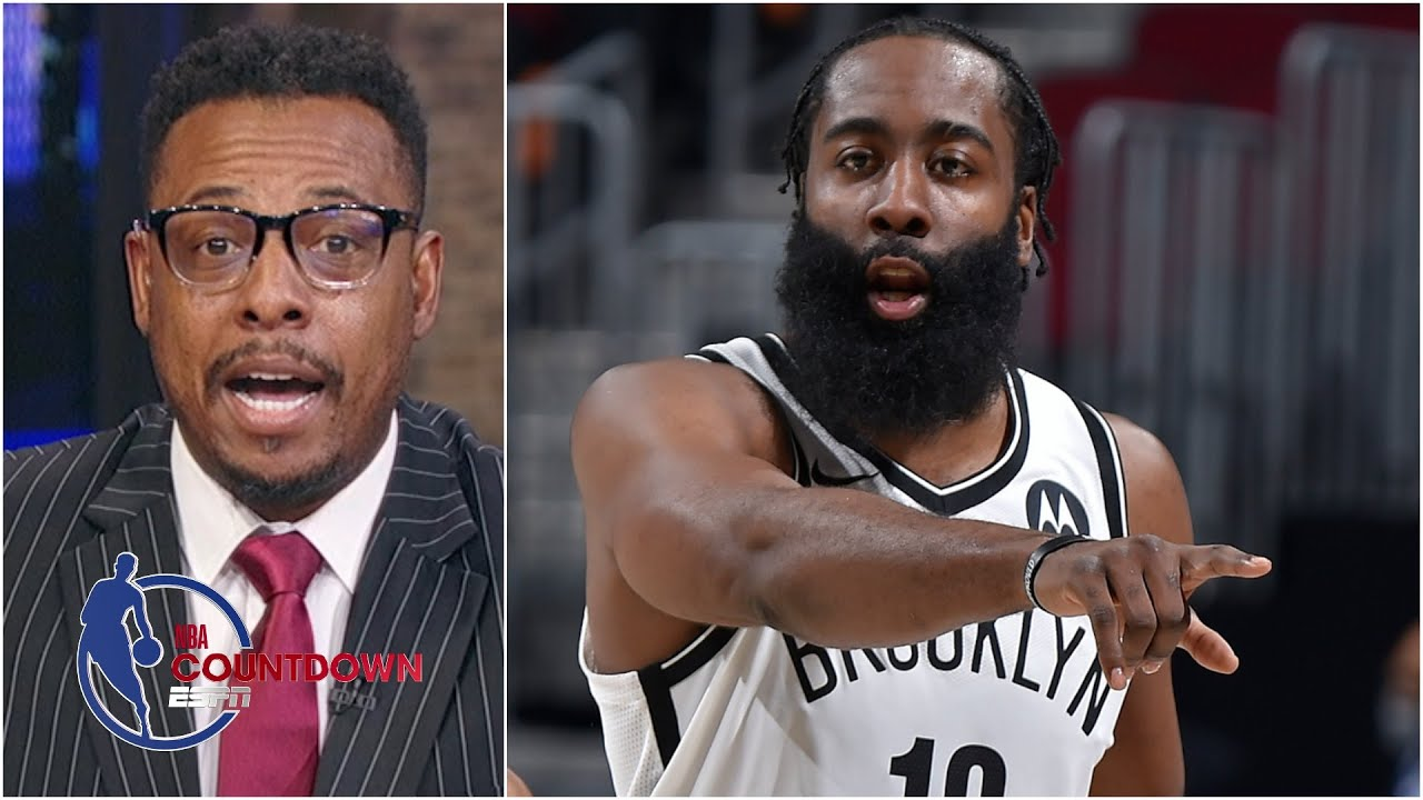 James Harden is the MVP right now! – Paul Pierce   NBA Countdown