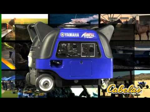 Yamaha ef3000is portable generator youtube for Yamaha generator ef3000is