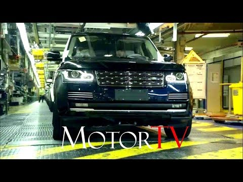CAR FACTORY : 2018 RANGE ROVER VELAR PRODUCTION l Full Assembly Line l Solihull Plant (UK)