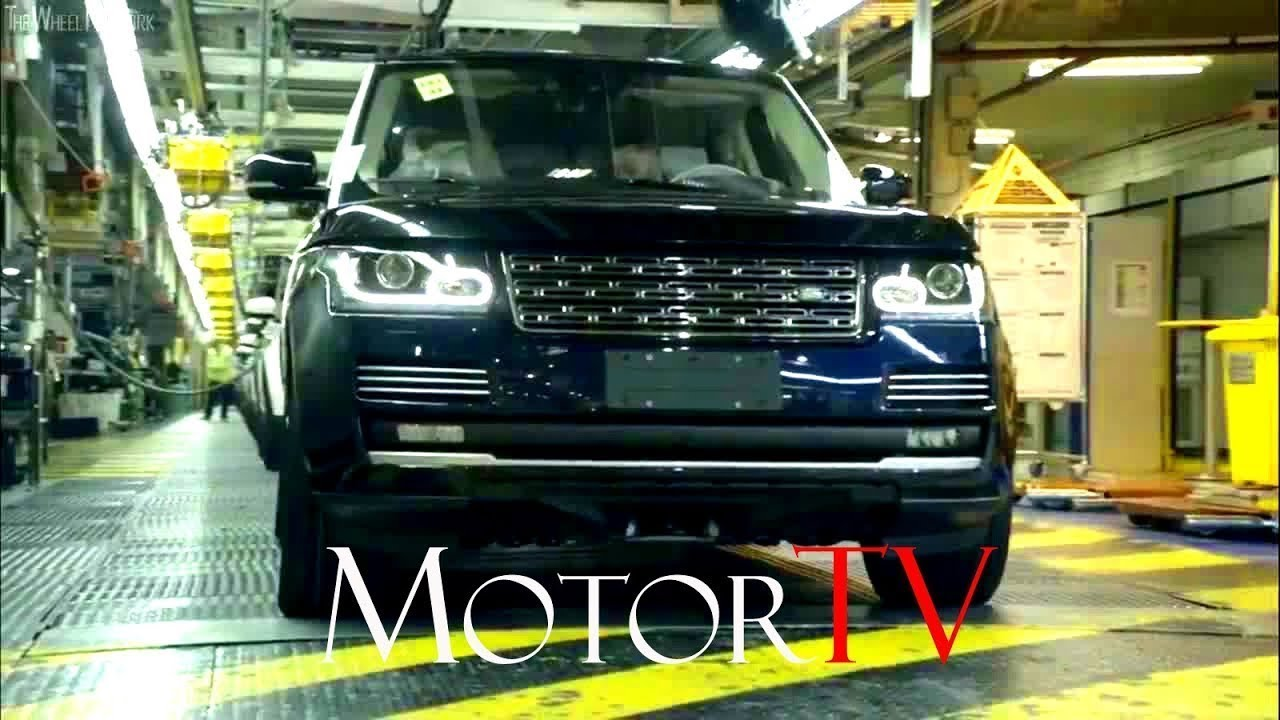 Car Factory 2018 Range Rover Velar Production L Full Assembly Line L Solihull Plant Uk