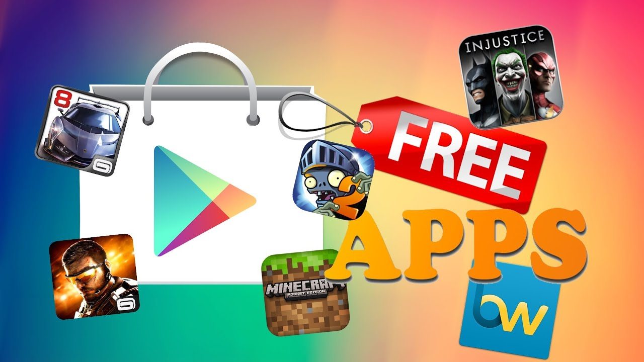 free paid apps and games