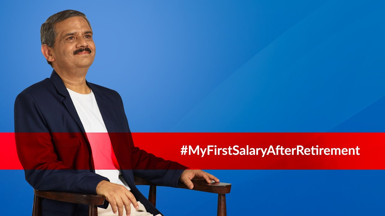 My First Salary After Retirement by HDFC Life, Sunil Gokhale, Retired as GM - HR, Bajaj Auto Finance