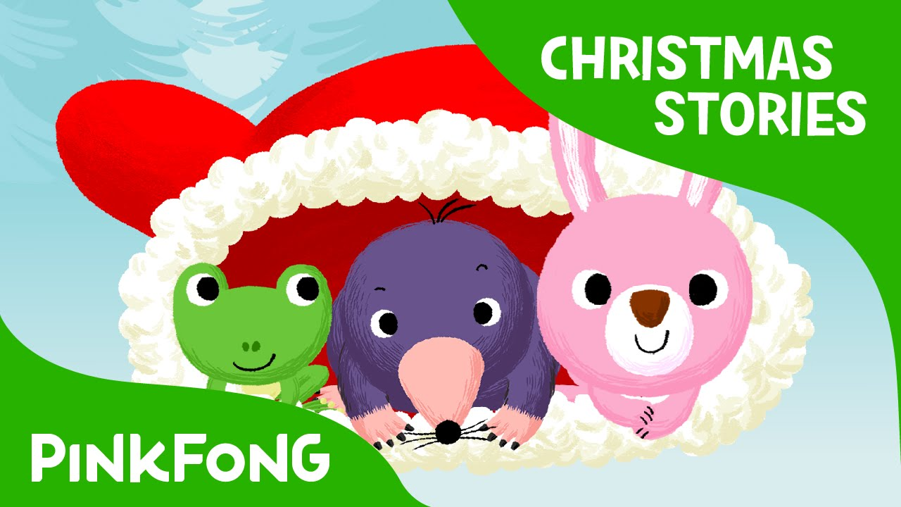 Christmas Stories For Kids.The Mitten Christmas Stories Pinkfong Story Time For Children