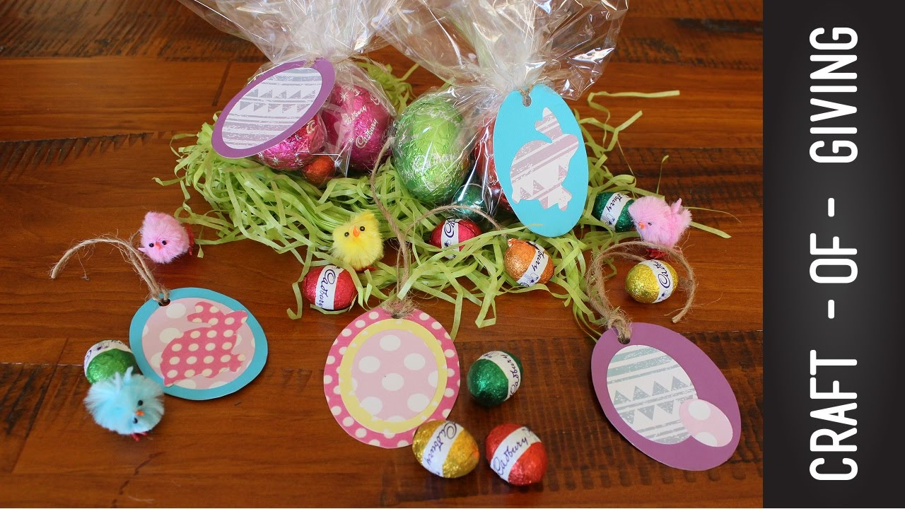 Diy easy easter gift tags craft of giving youtube negle Choice Image