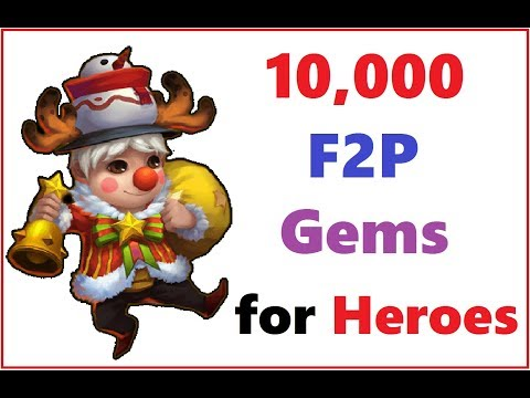 10k F2P Gems Rolled For Uncover The TREASURE Castle Clash