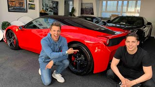 Meet My 22 Year Old Brother - The Supercar Dealer!