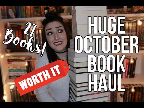 """SO WORTH IT"" BOOK HAUL."