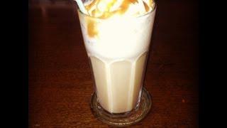 DIY Starbucks caramel frappucino!! Thumbnail
