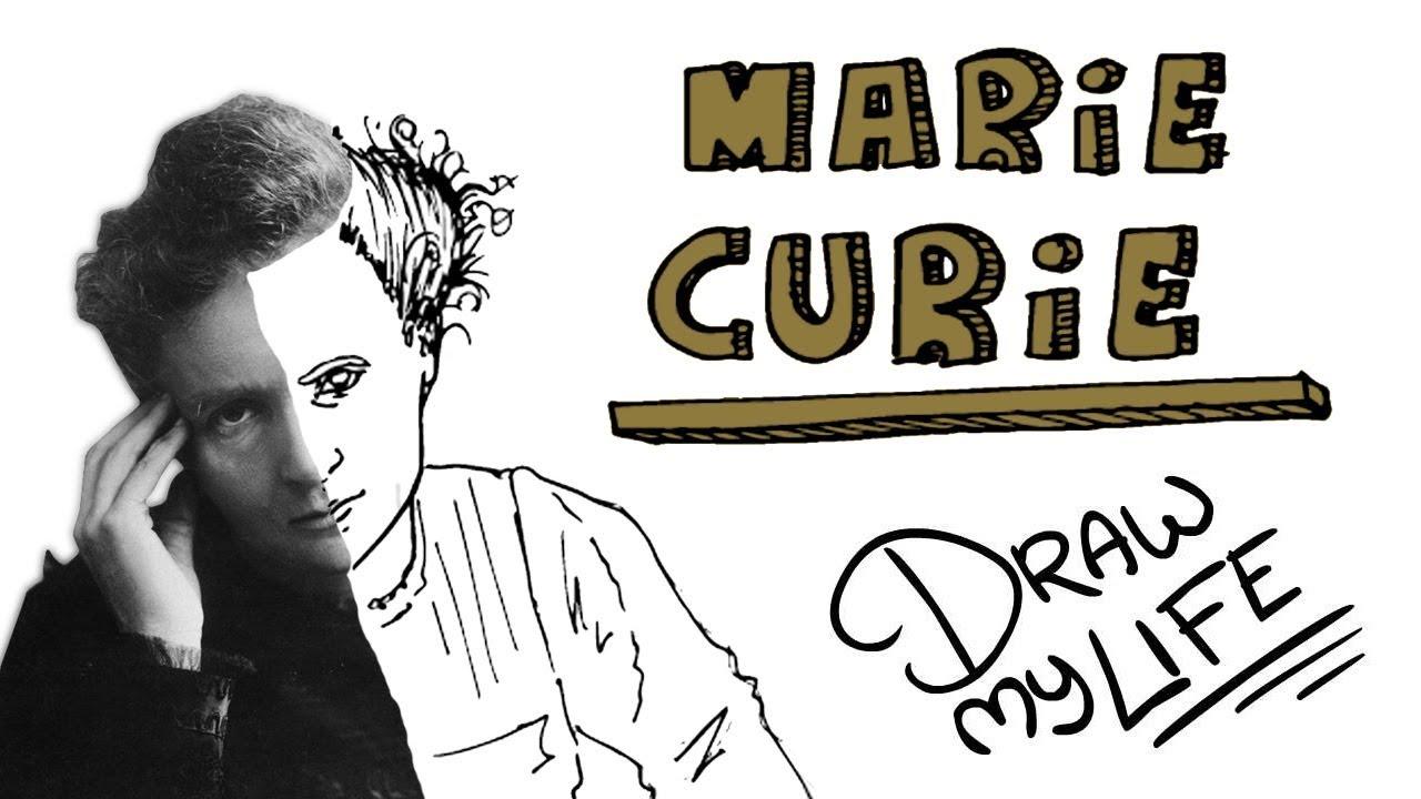 Marie Curie 🧪  Draw My Life Português