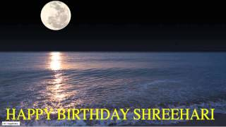 Shreehari  Moon La Luna - Happy Birthday