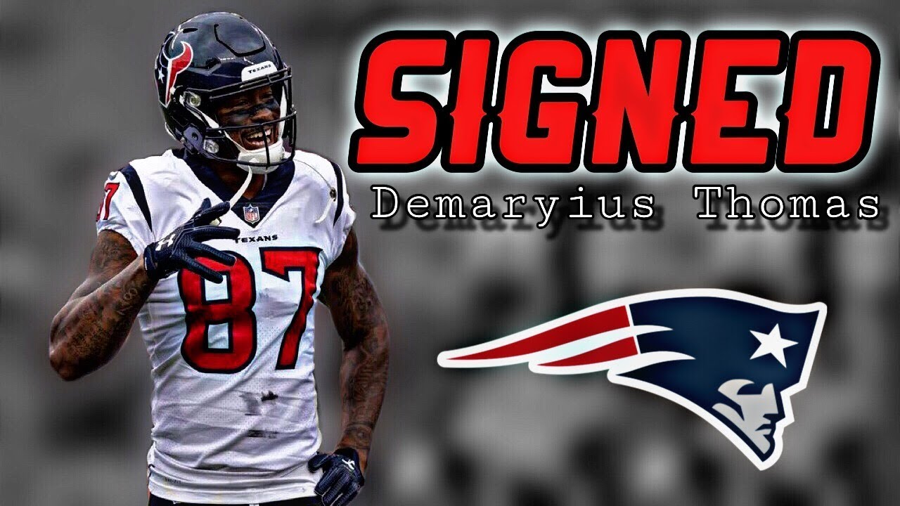 Patriots sign wide receiver Demaryius Thomas