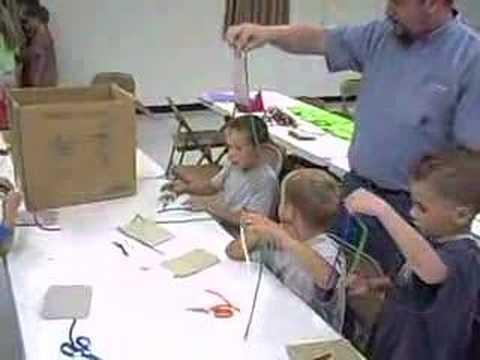 VBS Craft 2008 Paper Calvary Baptist Church