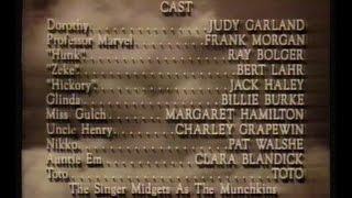 KREM 2 Wizard Of Oz Credits, Feb 26 1993