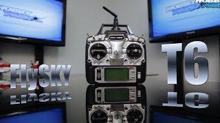 FlySky FS-T6 2.4ghz 6ch Computer Transmitter