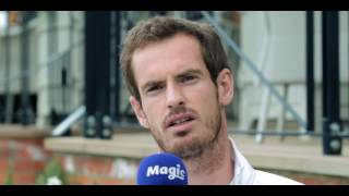 Andy Murray's daughter always hangs up on him on FaceTime!