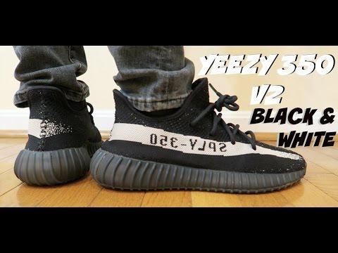Adidas Yeezy V2 On Feet