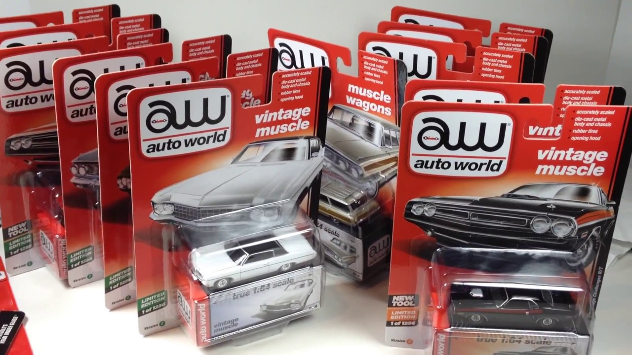 Auto World 2017 Release 1 Sets C and D Unboxing from autoworldstore ...
