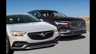 2018 Buick Regal TourX 2.0 vs. 2018 VOLVO V90 T5