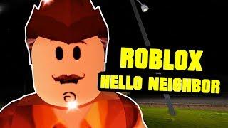 ROBLOX HELLO NEIGHBOR - Hallo Nachbar