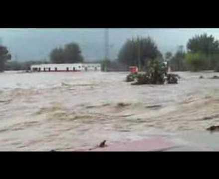 Beniarbeig Storm and Bridge