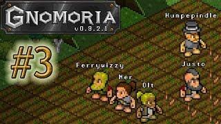Gnomoria 03. Первые мастерские, первые фермы.