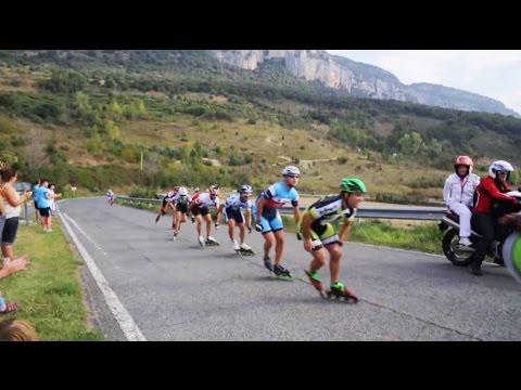 Pamplona - Puente la Reina 2014 Inline Speed Skating International Marathon