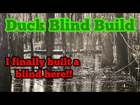 Duck Hunting- Duck Blind Build